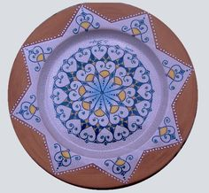 Plate #46 comes in sizes 35cm, 43cm & 48cm all of our terracotta is on our website www.romeocuomoceramics.com
