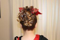 Cheerleader Hair