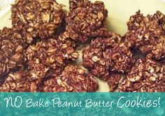 No Bake Peanut Butter Protein Cookies!