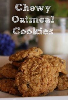 oatmeal cookies 7 by turtles&tails, via Flickr oatmeal cooki, food, chewi oatmeal, turtles, recip, cookies