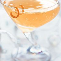 Ruby Champagne Cocktail