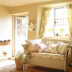 Summer garden living room.