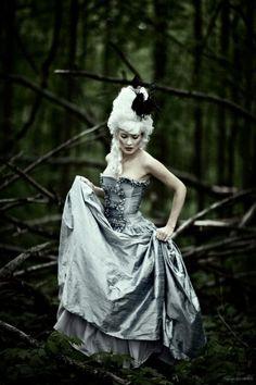 woodland marie   Marie Antoinette  style  JW