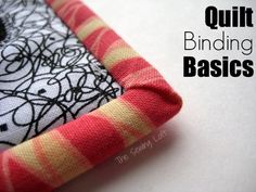 Quilt binding does not have to be stressful. Let's learn the basics at The Sewing Loft. #quilting #sewingtip #sew #quilt #garment #sacramento #meissnersewing