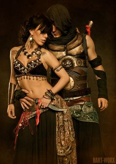 Prince of Persia cosplay.