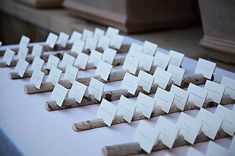 Birch Multi Place Card Escort Card by vermontbranchcompany on Etsy, $15.00