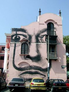 Dali, Lima Peru :::Neat-o. I've seen this piece of public art before, but I was never aware that it was in Lima.