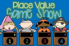 Place Value GAME SHOW Halloween - CC 2nd-4th Gr ppt from TinyToes on TeachersNotebook.com -  (25 pages)  - Looking for an exciting way to practice and review Place Value for Second and Third Grade? Here it is..and in a fun, INTERACTIVE powerpoint!