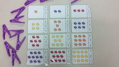 Fun-Tastic Fall Count and Clip Cards  (Sets to 12)  $  #fall  #autumn  #leaves  #counting  http://www.teacherspayteachers.com/Product/Fun-Tastic-Fall-Count-and-Clip-Cards-Sets-to-12-889925