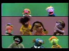 This is a fun example of hand-clapping and body percussion. Thank you, Sesame Street, for filming this over thirty years ago.