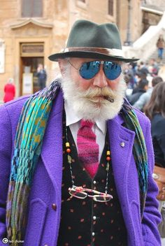Finally a Hipster that doesn't annoy me.. Rock on Hipster Grandpa you've got my full support