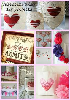Easy Valentine's Day DIY Projects from MomAdvice.com.