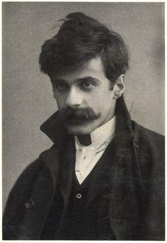 Alfred Stieglitz self-portrait, c. 1894, age 30.