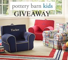Enter to win a $225 gift card to Pottery Barn Kids on Pretty My Party!