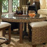 Found it at Wayfair -Wildon Home Martinique Coffee Table with Nested Stools--like extra seating