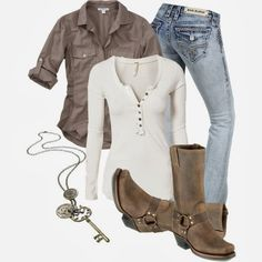 """Casual Outfits^^ loveeee find more women fashion on <a href=""""http://misspool.com"""" rel=""""nofollow"""" target=""""_blank"""">misspool.com</a> Minus the necklase"""
