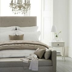 Neutral luxury  berooms | More Bedroom Decorating Ideas Neutral Colors Images