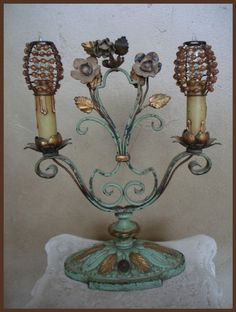 Set of Six Beaded Bulb Covers For by ParisCoutureAntiques on Etsy, $136.00