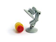 Pixar lamp in LEGO