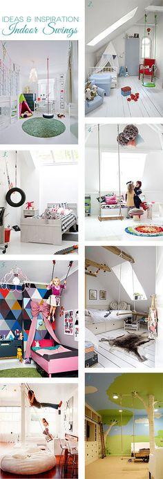 Ideas & Inspiration: Indoor Swings!