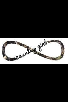 Infinity tattoo #camo #country #girl