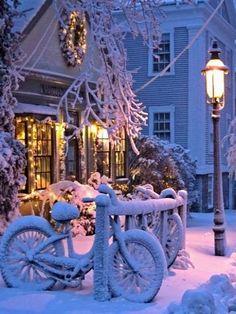 ~White Christmas.. Nantucket, Massachusetts, U.S~  Merry Christmas Nantucket Pinterest Friends!