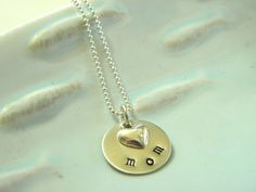 mom necklace - great Mother's Day gift