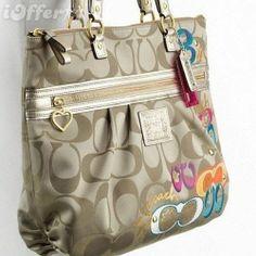 Coach-Handbag-Daisy-Pop-C-Applique-Tote