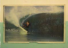 surf vintage poster