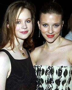 Thora Birch and Scarlett