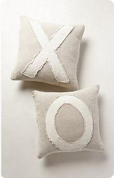 XOXO Valentine's Pillows