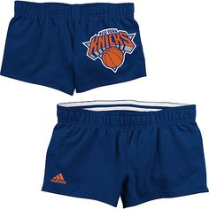 Adidas New York Knicks Womens Rollover Shorts $24.99