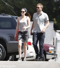 Rob and Kristen Share a Sweet Sushi Date: Robert Pattinson and Kristen Stewart grabbed sushi in LA.