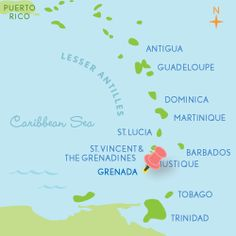 """This """"spice island,"""" famous for producing huge quantities of nutmeg, has become a vacationer's idyll in recent years, offering a trifecta of beach, rainforest and rich culture. In Grenada you can sail, scuba dive or sunbathe one day, hike to the top of a foliage-covered mountain the next, and then spend some time soaking up French and English colonial culture by strolling the streets of capitol city St. George's.   Before You Go: Need-to-know info Language: English Currency: East Caribbean ..."""