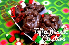 peanut cluster, peanuts, cakes, holiday food, candies, christmas candy, toffe peanut, christma candi, christma recipi