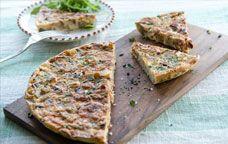 Frittata with Potato and Pancetta #recipe #GiadaWeekly