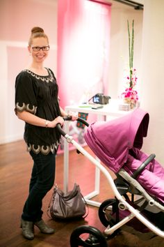 Britax Affinity Stroller Launch Event in NYC #blogger #style #radiantorchid #baby