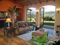 Staged this beautiful home! Santa Barbara, California
