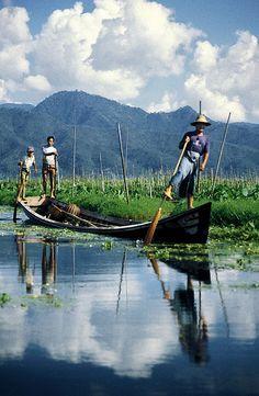 Myanmar Fisherman at Inle Lake