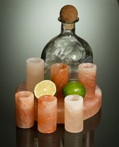 Now in Stock at Crave Naturals. Carved from naturally beautiful Himalayan pink crystal salt, naturally anti-bacterial surface, and enhances the flavor of your favorite tequila.