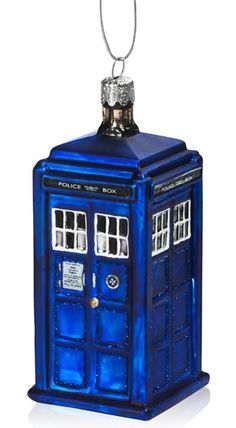 Dr. Who Christmas Ornaments