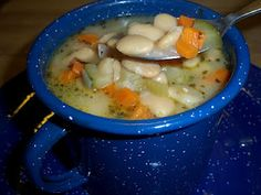 Butter Bean Soup: Packed full of veggies and silky butter beans, this has been a family favorite for years.     Everyday Mom's Meals