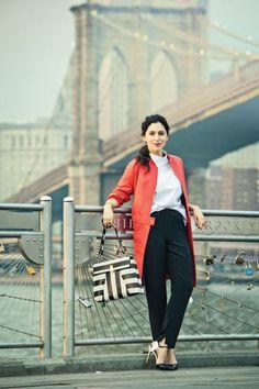 The Brooklyn girl's work outfit, as seen on interior designer Susana Simonpietri