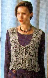 DE MIS MANOS TEJIDOS Y MAS...: Chalecos women cloth, crochet top, crochet cloth