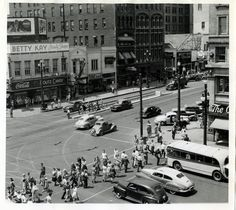 A view of Salt Lake City on July 14, 1943. (Tribune file photo)