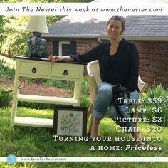 Turning a House into a Home on a Thrift Store Budget: Day 2 by @lysaterkeurst #diy