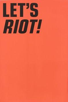 #warrange #riot #design #typography