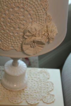 Lamp idea for baby girl's room
