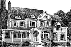 Mitchell House - Southern Avenues | Southern Living House Plans