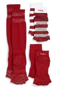 Half toe socks gift set - great for pilates and yoga lover